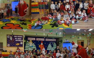 Wizyta Świętego Mikołaja wOchronce