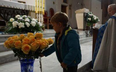 Róże dla Matki Bożej!